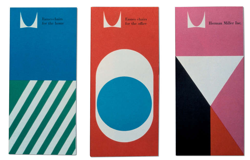 Herman Miller Product fold-out brochures