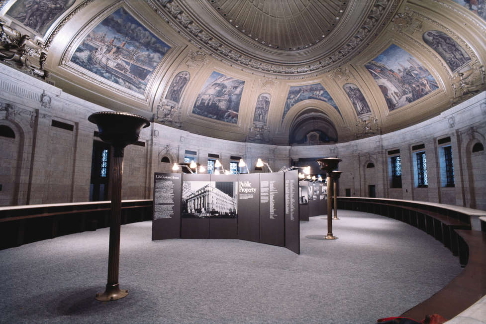 Public Property, exhibition US Customs House, New York