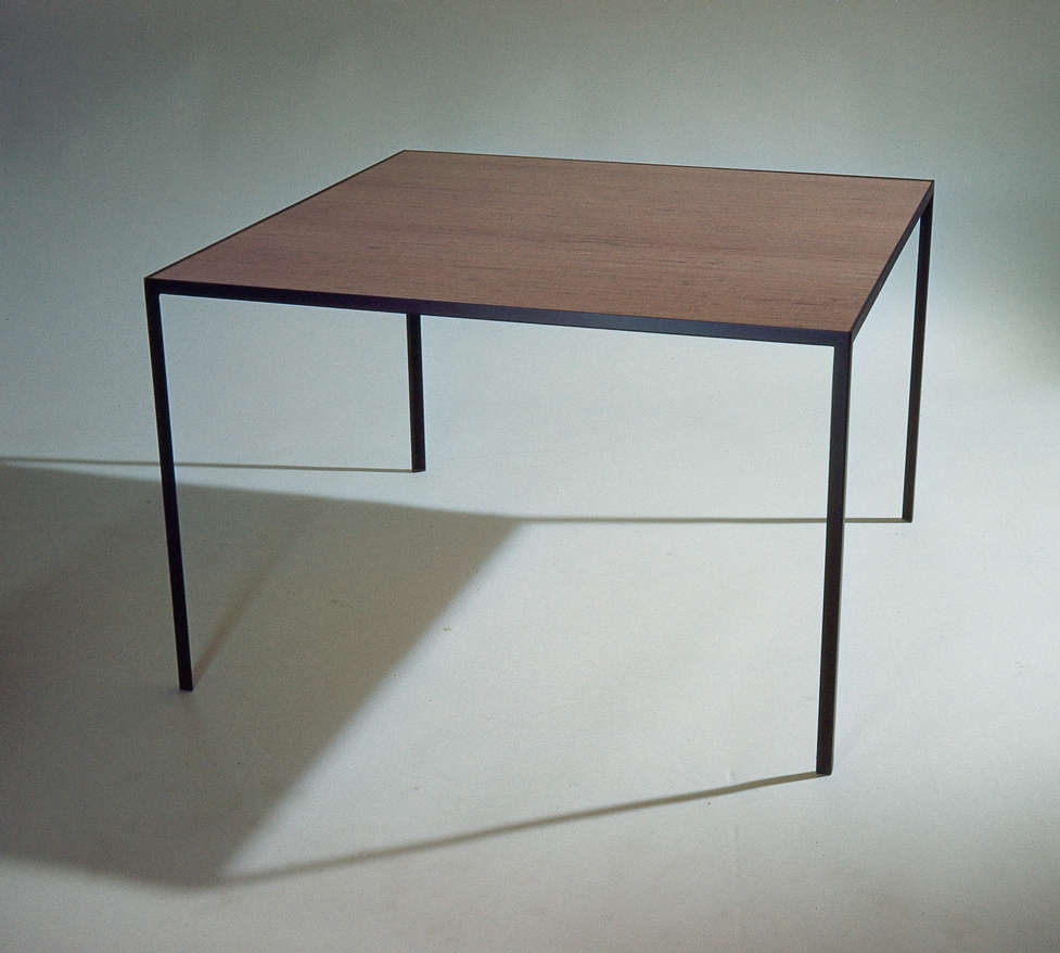Oblong Coffee Table and Square Table (Angle Iron Tables)