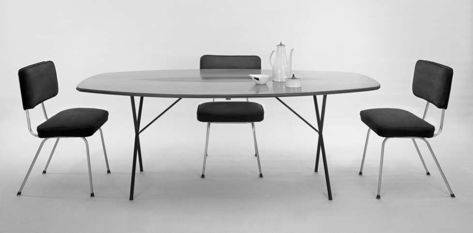 Soft Edge Curved Dining Table